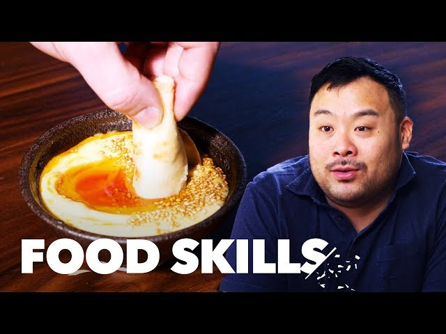 "David Chang Breaks Down ""Ugly Delicious"" and Bing Bread   Food Skills"
