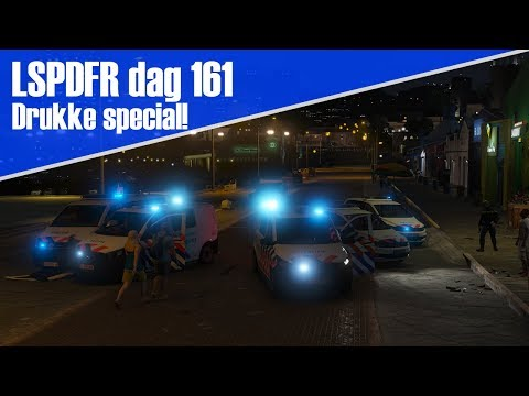 GTA 5 lspdfr dag 161 - Special! Heel groot ongeval + vechtpartij!