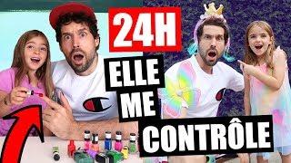 MA FILLEULE DE 7ANS ME CONTRÔLE PENDANT 24H - HUBY