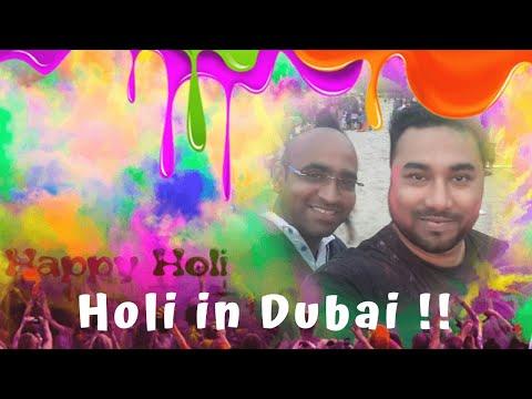 Holi in Dubai 2019 !!