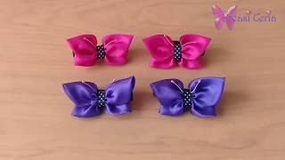 Video ini menjelaskan tentang cara membuat ikat rambut cantik bentuk kupu-kupu. kupu-kupu merupakan dengan hiasan b...