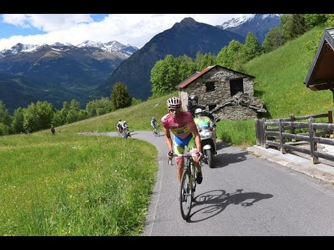 Contador Conquers Mortirolo - English