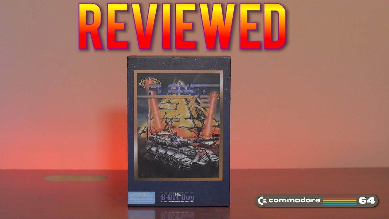 Planet X2 for the Commodore 64 is Finished! - The 8-Bit Guy