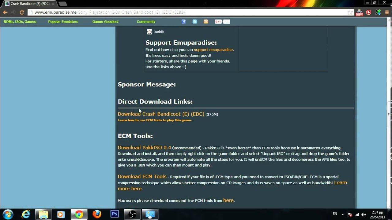 Download ecm tools emuparadise  Free Emuparadise  2019-05-05