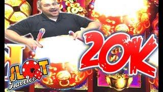 ★ THANK YOU! ★ DANCING DRUMS GRAND 20K CELEBRATION ☞ Slot Traveler