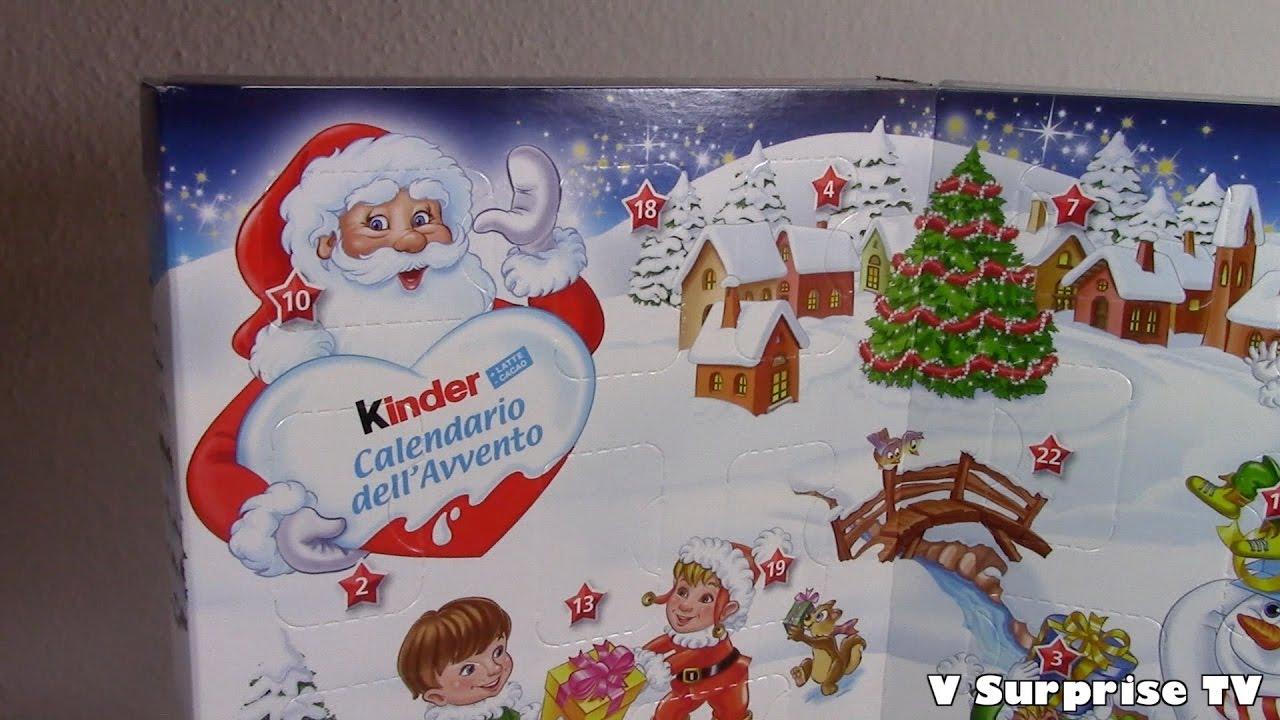 Kinder Sorpresa Calendario Dellavvento 2016 Ovetti Al Cioccolato