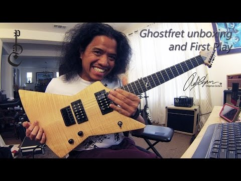 Chapman Ghostfret: Unboxing, First play, Ghostfret does Blues
