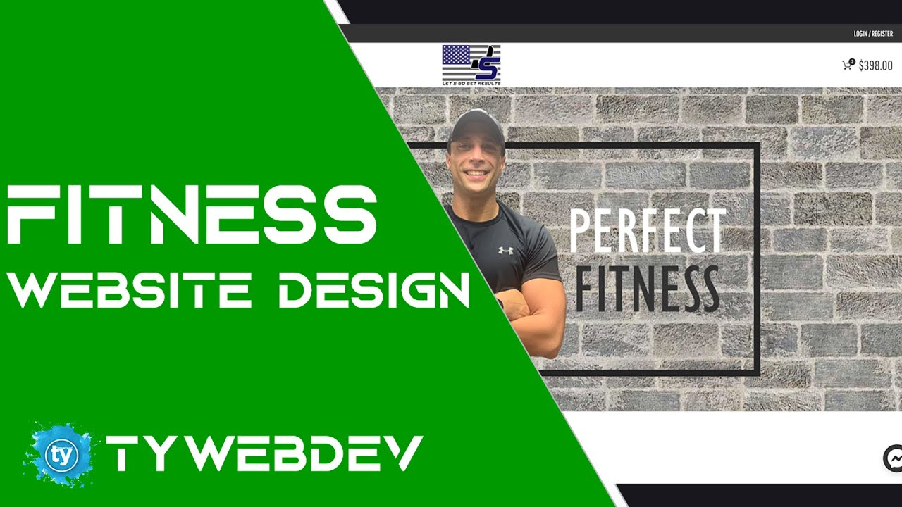 Fitness Instructor Website Design & Development | Membership | WooCommerce | WordPress