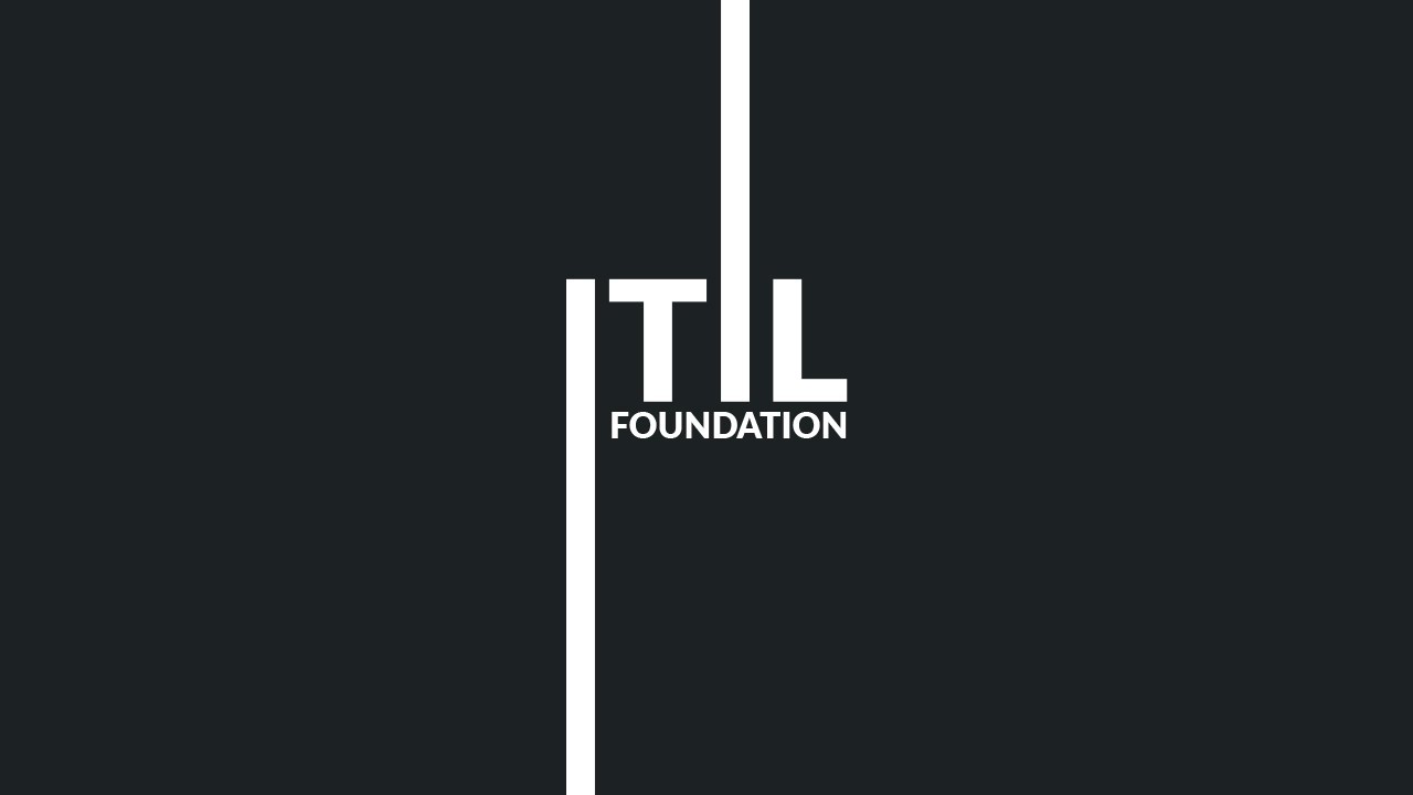 Itil Foundation For It Service Management Youtube