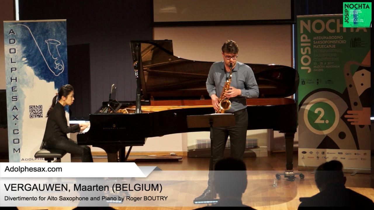 Divertimento by  Roger Boutry – VERGAUWEN, Maarten (Belgium)