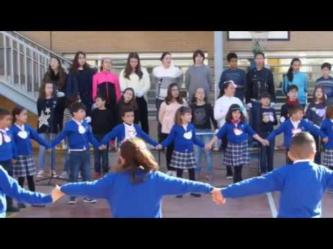 Dia de la Pau 2018 - 1r i 2n de Primària - Paz y amor