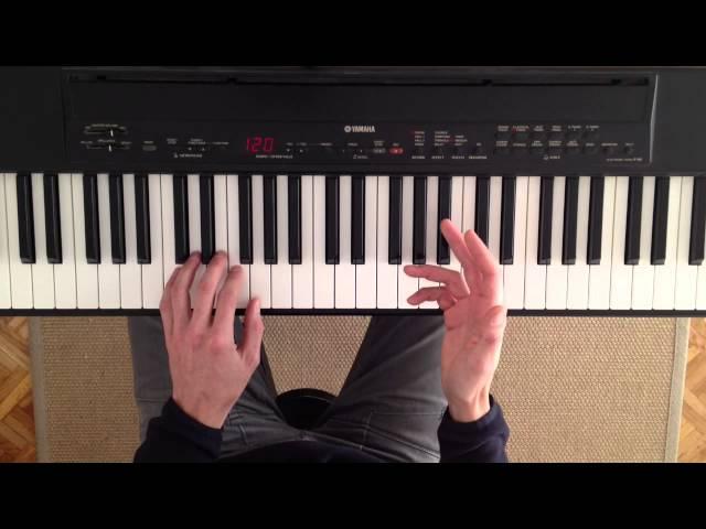 Curso de acordes para piano. Clase 3. Progresiones de acordes y grados tonales