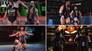 WWE 2K19 Entrances - Rusev Day, Bludgeon Brothers, Shield, Gable/Benjamin, Street Profits & More!