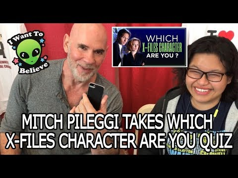 """Mitch Pileggi takes """"Which XFiles Character Are You?"""" Quiz"""