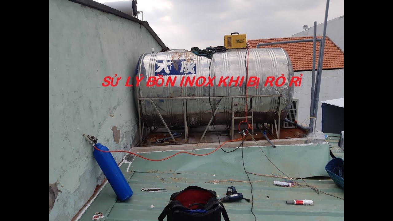 Kỹ thuật hàn bồn nước inox