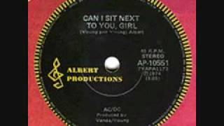AC/DC - Can I Sit Next To You Girl (Original Dave Evans Version)