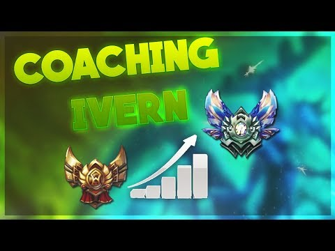 Coaching How To Play Ivern Jungle - Gold Gameplay and Commentary Season 7