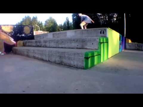 Awesome skateboarding trick!! (Fakie bigflip) INVASION SKATEBOARDING