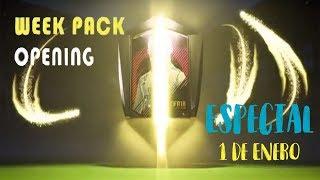 Directo FIFA 18 pack Opening semanal! Especial 1 de Enero
