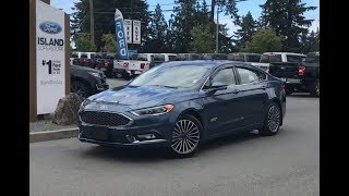 2018 Ford Fusion Energi Platinum Review| Island Ford