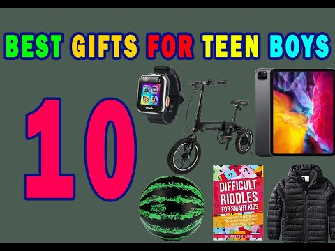 Best Gifts For Teen Boys Top Birthday Gift Ideas For Teenage Guys Youtube