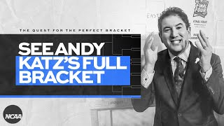 Bracket tips: Andy Katz fills in his entire 2021 NCAA bracket