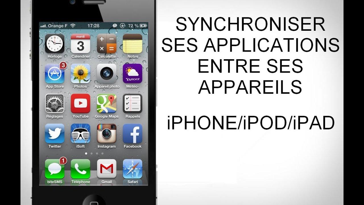 [ASTUCE/TUTO] Comment synchroniser les applis et les musiques entre vos iPhone/iPod/iPad
