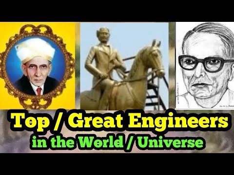 FAMOUS CIVIL ENGINEERS TOP 3  IN THE WORLD/Engineers build the World