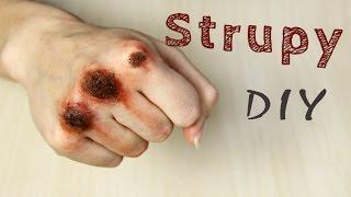 ♦ Charakteryzacja: Jak zrobić sztuczne strupy i otarcia ? ♦ Thumbnail