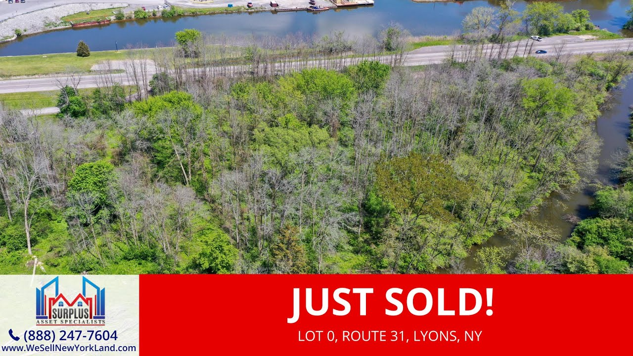 Just Sold By www.WeSellNewYorkLand.com - Lot 0 Route 31, Lyons, NY - Land For Sale New York