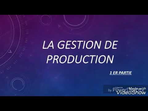 Gestion De Production Partie 1