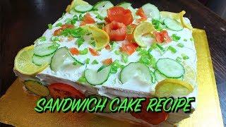 SANDWICH CAKE RECIPE *COOK WITH FAIZA*
