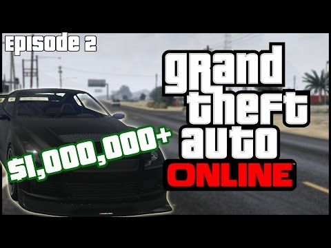 Grand Theft Auto 5 Online (PC) - Episode 2 - Million Dollar
