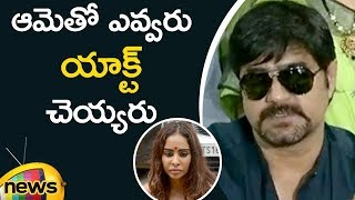 Actor Srikanth Sensational Comments On Sri Reddy Behaviour Infront Of Maa Office | Mango News