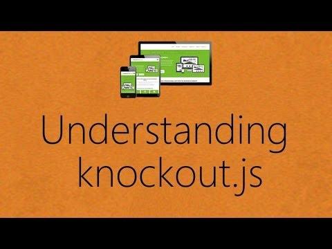Understanding knockout.js in Single Page Application development in ASP.NET  - Part 1
