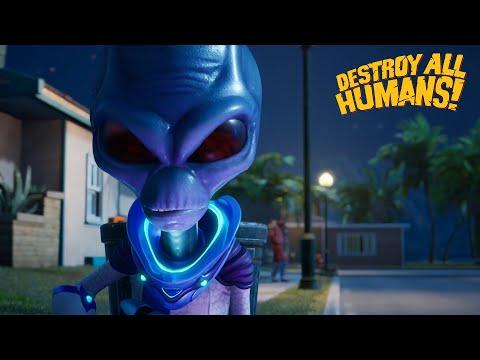 Destroy All Humans! - Cryptosporidium-137 presents: Fun with Alien Guns