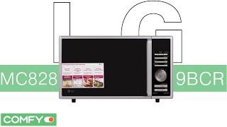 LG MC8289BCR - микроволновая печь с конвекцией и грилем - Видеодемонстрация от Comfy.ua