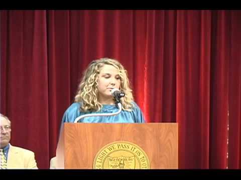Wittenberg New Student Day Welcome Ceremony Erin S...
