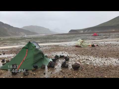 ICELAND: when the time comes to get drenched