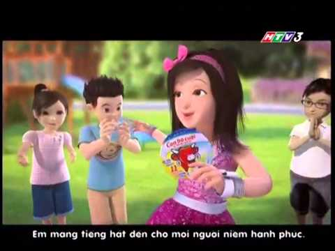Quảng cáo: Con bò cười Tháng 8 - 2013 - 3D