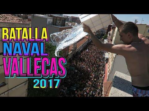 BATALLA NAVAL VALLECAS 2017 (Locura acuática) - Curioso De Todo | edusanzmurillo