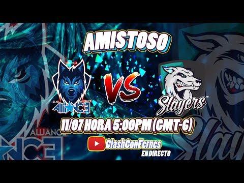 Star Alliance CA VS Slayers eSports   Partido Amistoso