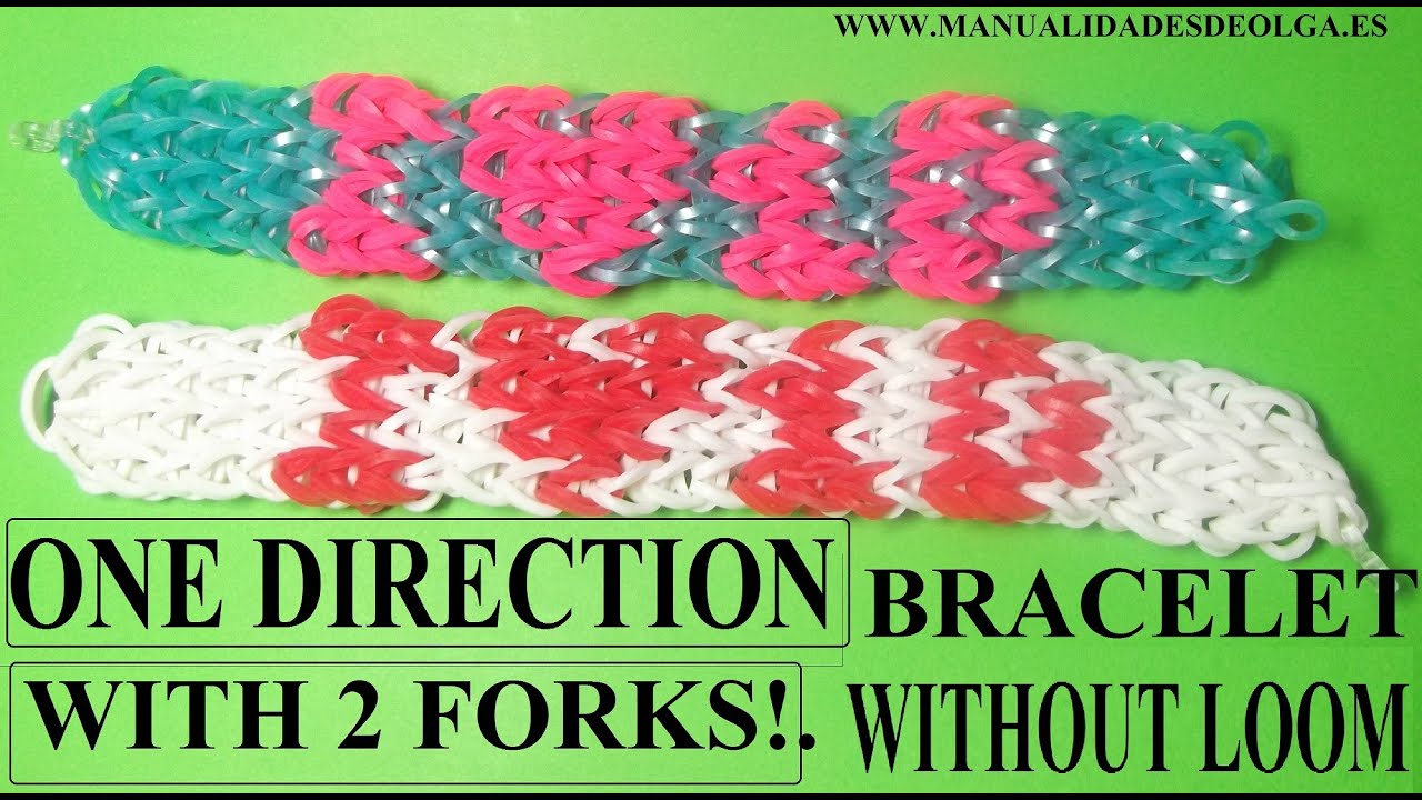 How To Make One Direction Bracelet Without Rainbow Loom