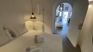 Honeymoon Cave Suite 8 with private mini pool | Eternity Suites Santorini