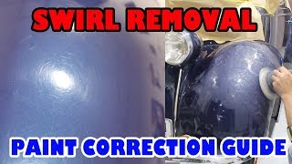 Swirl Removal & Scratch repair guide
