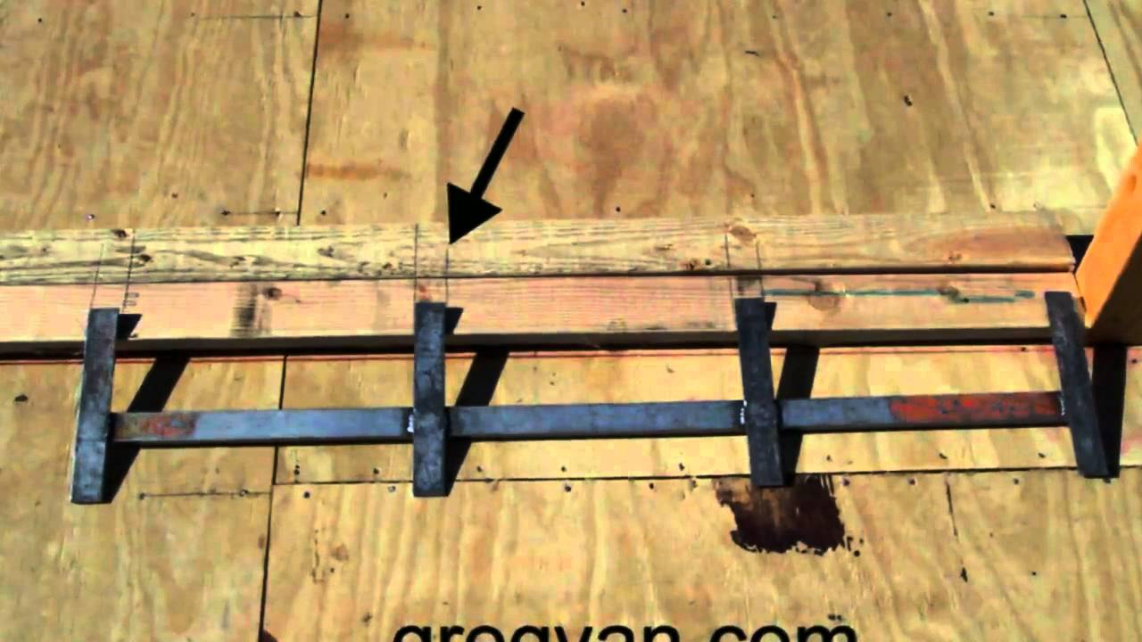 wall framing layout tool home building help youtube