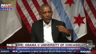 WATCH: Former President Barack Obama Talks About Pursuing Goals, Success, Lessons of Failure (FNN)