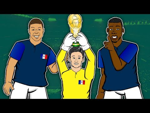 FRANCE 4 - 2 CROATIA ► WORLD CUP FINAL 📺 GOGGLE IN THE BOX 📺 442oons ft Mbappe, Pogba & Modric!