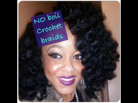 Crochet Braids Step By Step : NO Boil Crochet Braids Step by Step - YouTube