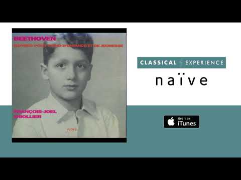 François-Joel Thiollier - 3 Piano Sonatas, WoO 47, No. 2 In F Minor: II. Andante